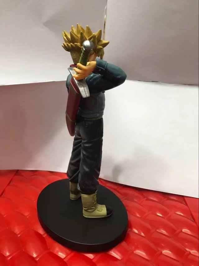 Dragon Ball Z Super GUERREIROS Figurine O SUPER SAIYAN Trunks PVC Action Figure Modelo Toy Collectible Modelo