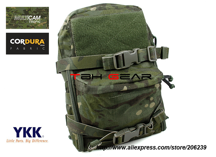 TMC Mini MOLLE Tactical Vest JPC Hydration Bag Multicam Tropic+Free shipping(SKU12050137) tmc field shirt