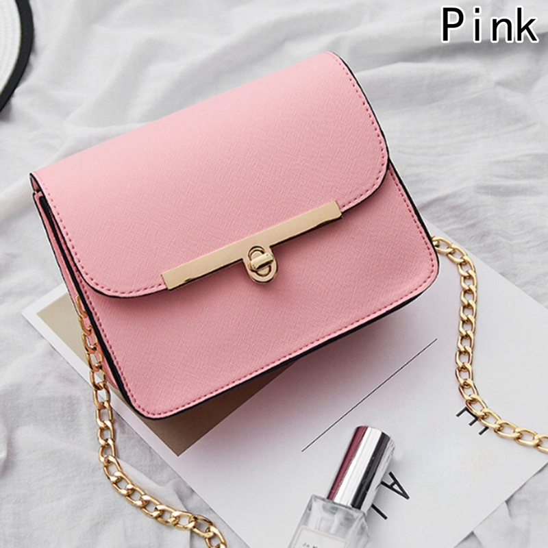 2018 New Chain Strap Women Bag PU Leather Women Messenger Bags Crossbody Designer Ladies Shoulder Bag Bolsa Feminina