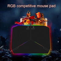 LED Aydınlatma Sert Oyun Mouse Pad RGB Renkli Bilgisayar Dizüstü Fareler Mat XXM8