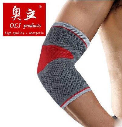 Silica gel sports elbow pads volleyball basketball elbow protection support coderas cotoveleiras free shipping elbow6601