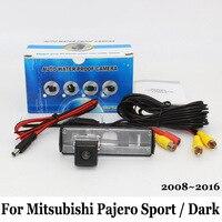 For Mitsubishi Pajero Sport Pajero Dark 2008 2016 Wired Or Wireless HD Wide Lens Angle CCD