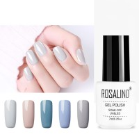 RC Color Fashion Nail Polish Gum Milk Gray Nail Polish Nail Shop Pure Non-condensing Glue Odorless Manicure Art Nail Gel