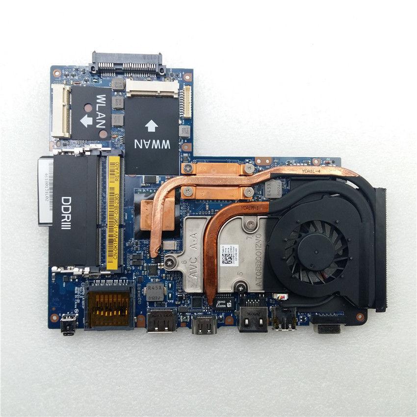 SHELI CN-0K1PWV 0K1PWV K1PWV For Dell M11X R1 Motherboard SU7300 LA-5811P