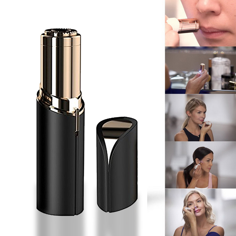 Smooth Touch women Face Electric Hair Removal Painless Lipstick Shaving Tool Epilator Touch Flawless Hair Remover Razor