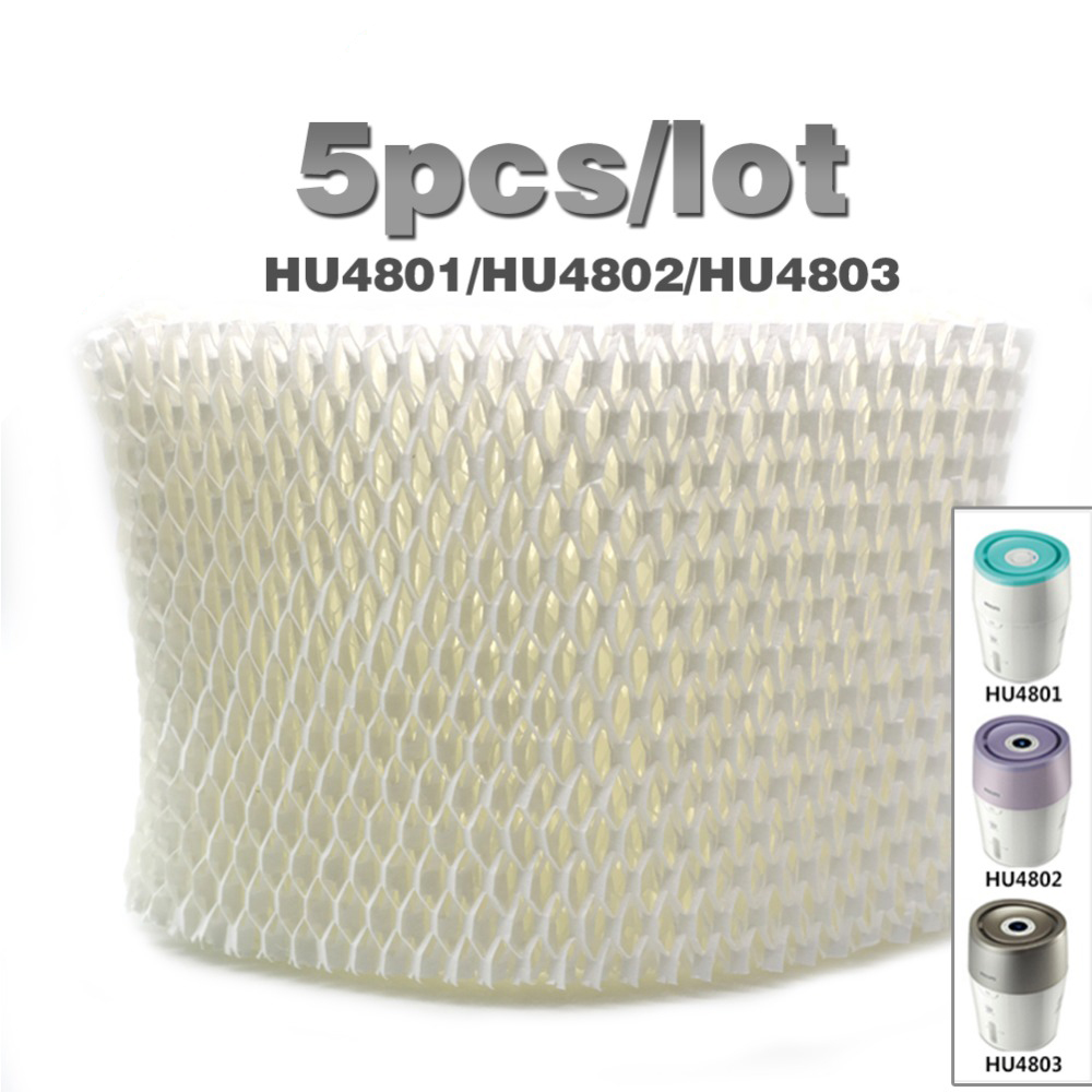 5pcs/lot Original OEM HU4102 humidifier filters,Filter bacteria and scale for Philips HU4801/HU4802/HU4803 Humidifier Parts