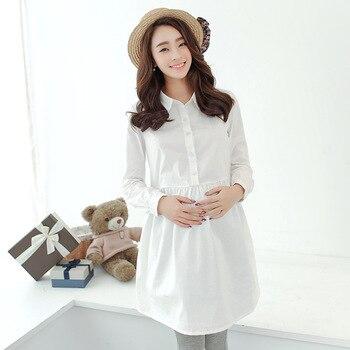 ccbe1ef32e8 Oklady Для женщин платья для беременных и кормящих платье-рубашка для  беременных Для женщин Беременность Для женщин платье Костюмы мать домаш.