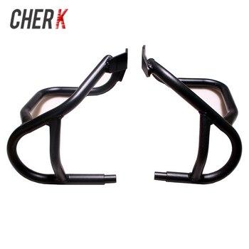Cherk Black Motorcycle Under Engine Guard Highway Crash Bar Frame Protection For BMW R1200GS GS 2004-2012 2011 2010 09 08