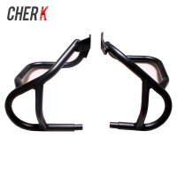 Cherk Black Motorcycle Under Engine Guard Highway Crash Bar Frame Protection For BMW R1200GS GS 2004 2012 2011 2010 09 08