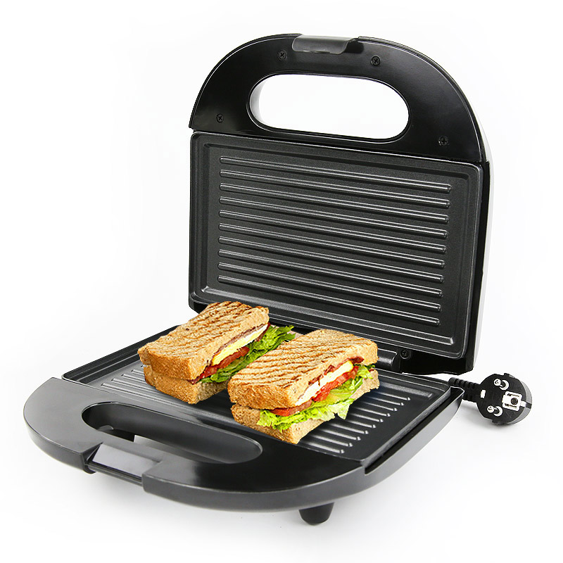 DMWD Home Electric Griddle Breakfast Machine Sandwich Hamburger Pancake Maker Baking Plate Bread Toaster Double-side Heating 2pcs lot new style pancake machine electric bread toaster fy 2213