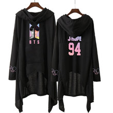 Bangtan7 Hooded Dress (9 Models)