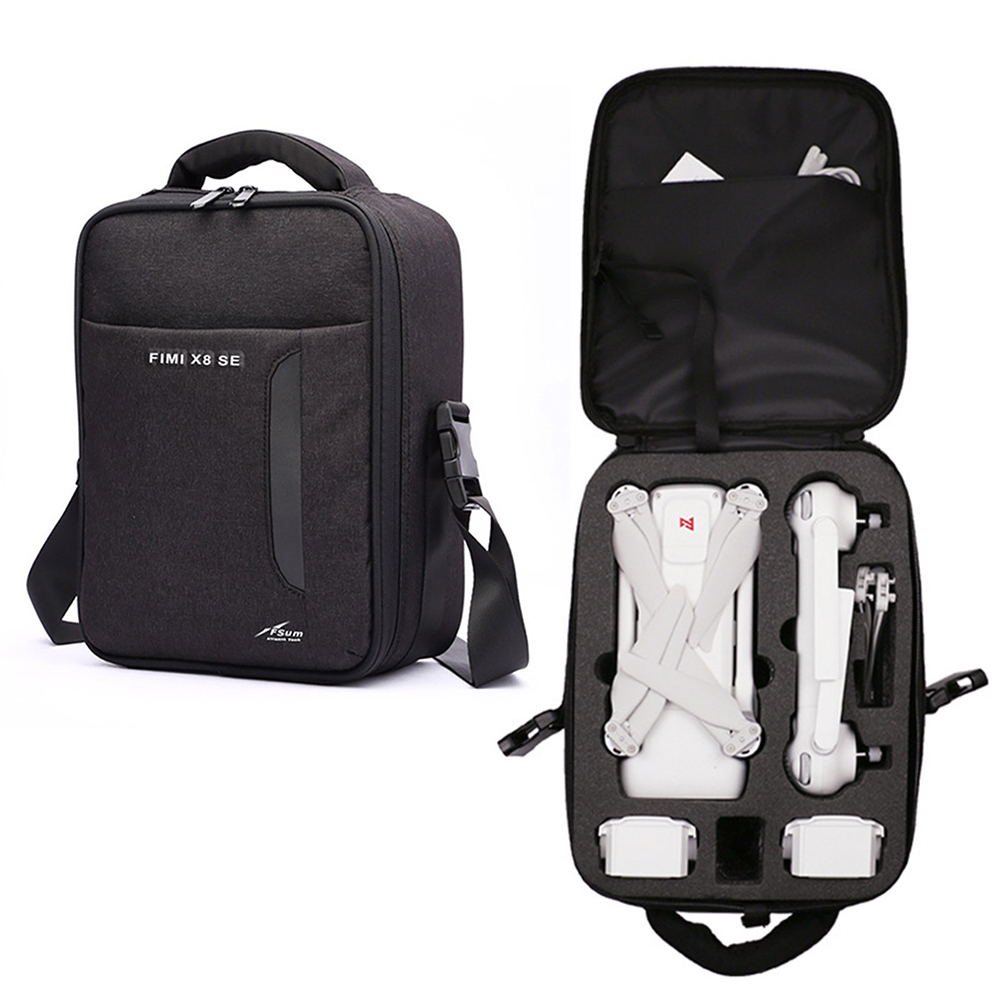 Fimi X8 SE Drone Bag Nylon Canvas Storage Backpack For Xiaomi Fimi X8 SE RC Quadcopter Carrying Portable Bag Protect Accessories