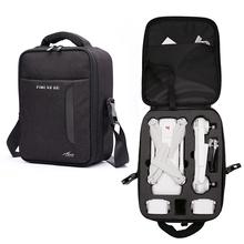 Fimi X8 SE Drone torba nylonowa płótno plecak do przechowywania dla Xiaomi Fimi X8 SE zdalnie sterowany quadcopter przenoszenie przenośna torba chroń akcesoria tanie tanio Drone torby Case for Xiaomi Fimi X8 SE Drone Bags 467g 310*140*250mm ZOPRORE ZP-190529001 Black Shockproof Portable Bag