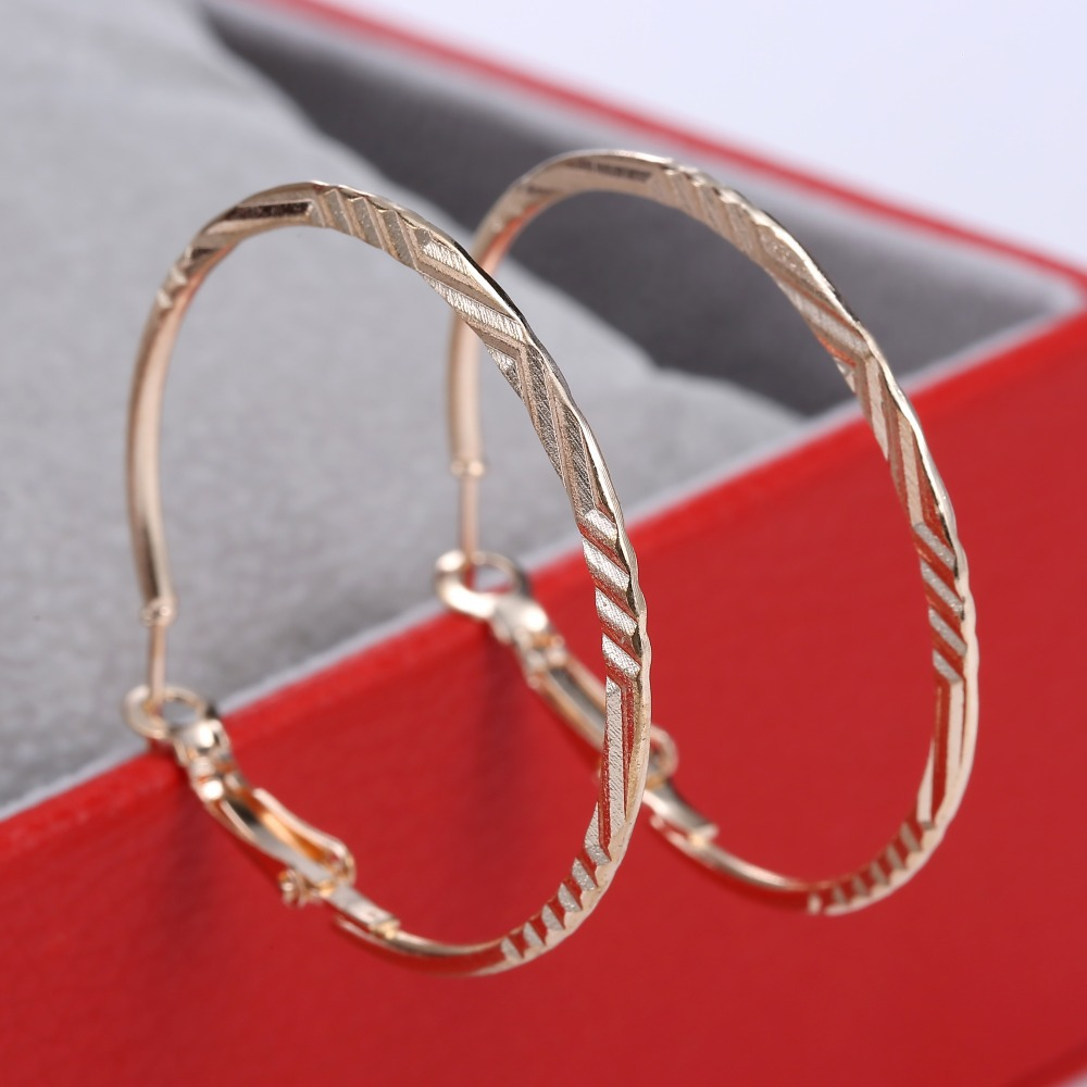 Aliexpress : Buy Simple Designer Basketball Wives Earrings New Big Hoop  Earring For Women Jewelry Female Earrings For Wedding From Reliable Big  Hoop