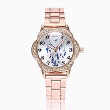 b05f90bcd1b Venda quente Mulheres Relógios Dream Catcher Moda Feminina Liga Banda Analógico  Quartz Rodada Relógio de Pulso Relógios Pulseira.