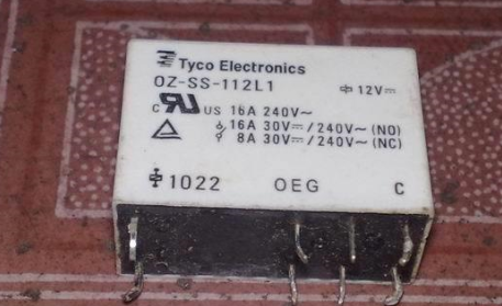Реле, OZ SS 112L1 14F 1C 8P 16A|relay avr|relay 100arelay numbers | АлиЭкспресс