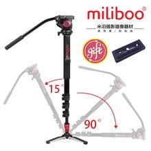 Miliboo MTT705A Portátil De Aleación De Aluminio Monopod y Trípode Para cámara de Vídeo Profesional/Video/DSLR Soporte. a Mitad de Precio Manfrotto