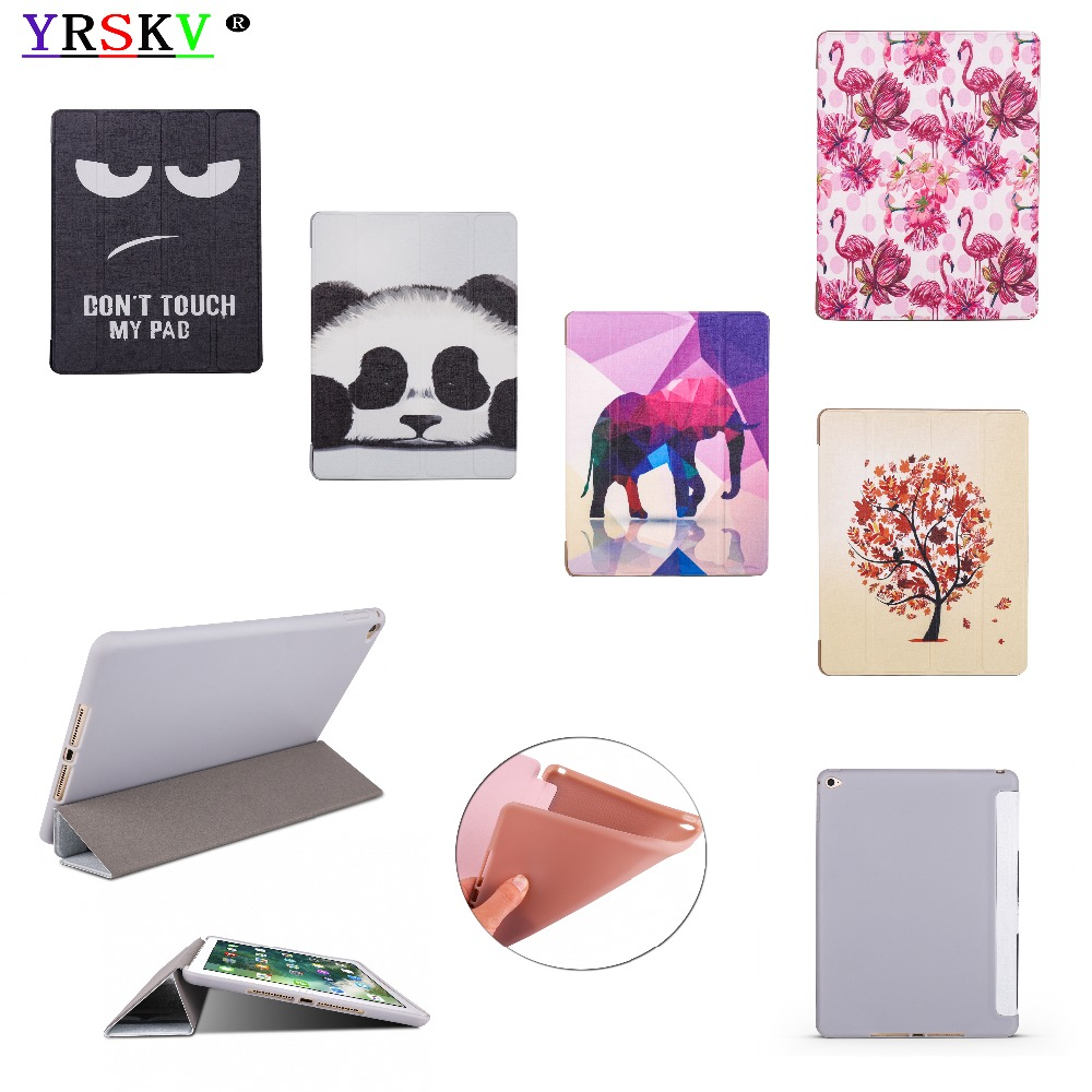 Case for iPad Air 2 inch (2014) YRSKV Painted Ultra Slim Light weight PU leather cover+TPU shell Smart Sleep Wake Tablet Case