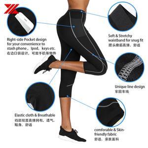 Image 3 - HEXIN ผู้หญิงซาวน่าเสื้อยืดกางเกง 2Pcs ต่อชุด Body Shapers Neoprene กีฬาไขมัน Burn เหงื่อ Slimming ออกกำลังกายเหงื่อเอวเทรนเนอร์