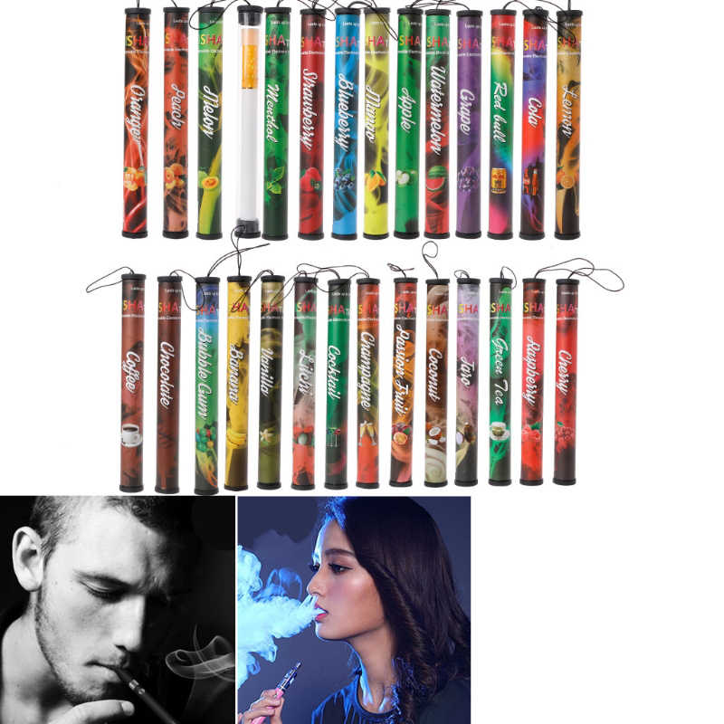 Fruits Flavor 500 Puffs Disposable Vapor Hookah Electronic Shisha Stick Pen
