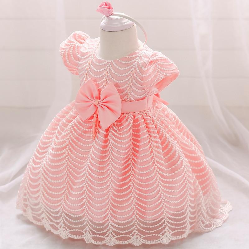 e68d57ed9 Bebé chica Carnaval de invierno ropa de boda recién nacido vestido para  niñas vestido de princesa bebé de 1 año Primer Cumpleaños niña vestido de  fiesta
