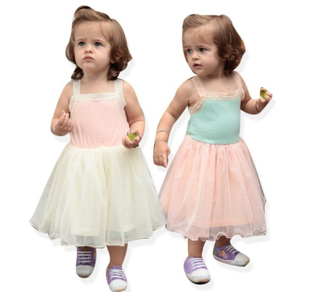Free Shipping Wholesale Baby Dress New Arrival Sleeveless Bohemian Ball Gown Baby Girl Dresses White Pink Baby Girl Summer Wear