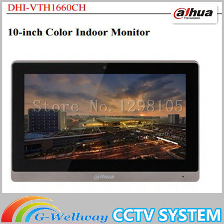 DAHUA 10inches IP Color Indoor Monitor Original English Version without Logo VTH1660CH fast shipping