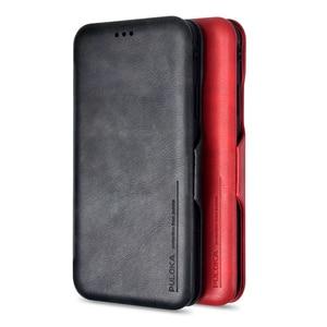 Image 1 - PU Leder Brieftasche Fall für iPhone 6s 7 8 plus mit card slot halter ständer & Geld Tasche flip silikon soft cover für XR XS XMAX