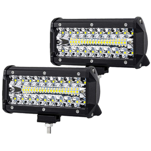 7 inch 120W LED Work Light Bar