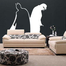 Removable Vinyl Wall Decal Batman And Joker Design Stickers Dark Knight Mural Sticker Boys Bedroom Home Decor AY0158