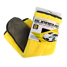 Auto Care Super Thick Plush Microfiber Car Wax & Polishing Towel for Car Care Detailing High quality Soft Microfiber Towel