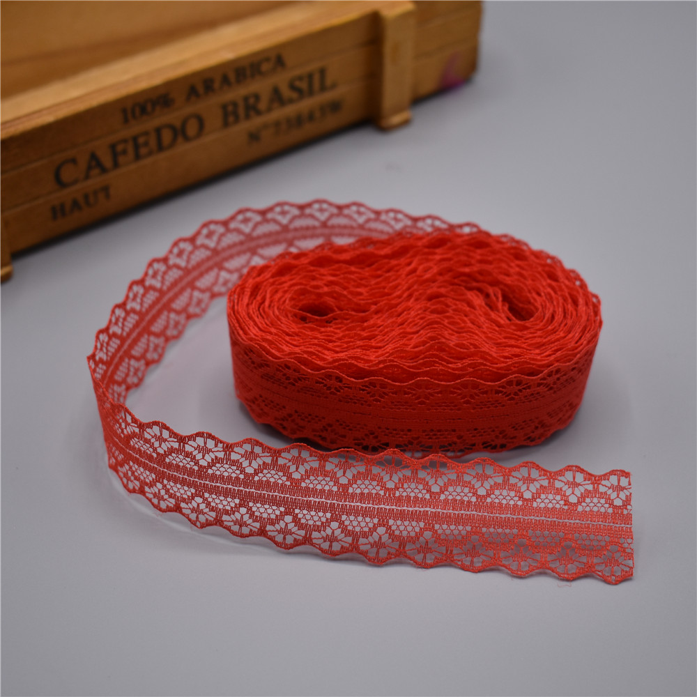 High quality 10 yards Lace Ribbon Tape Width 28MM Trim Fabric DIY Embroidered Net Cord For High quality 10 yards Lace Ribbon Tape Width 28MM Trim Fabric DIY Embroidered Net Cord For Sewing Decoration african lace fabric