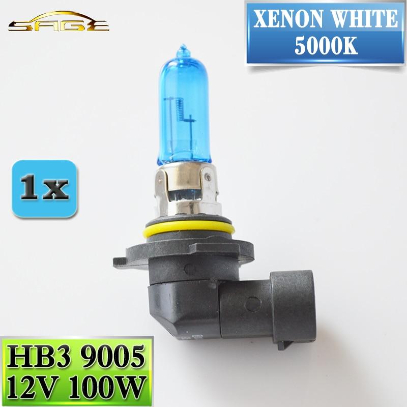 flytop HB3 9005 12V 100W Halogen Bulb 5000K Xenon Dark Blue Super White Quartz Glass Replacement Car HeadLight Lamp napapijri guji check dark blue