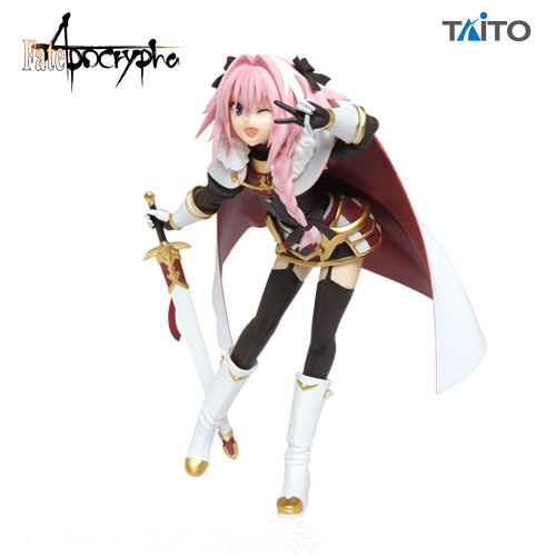 180mm Japanese anime figure original Fate/Apocrypha action figure collectible model toys for boys 21cm japanese original anime figure neon genesis evangelion eva asuka langley soryu action figure collectible model toys