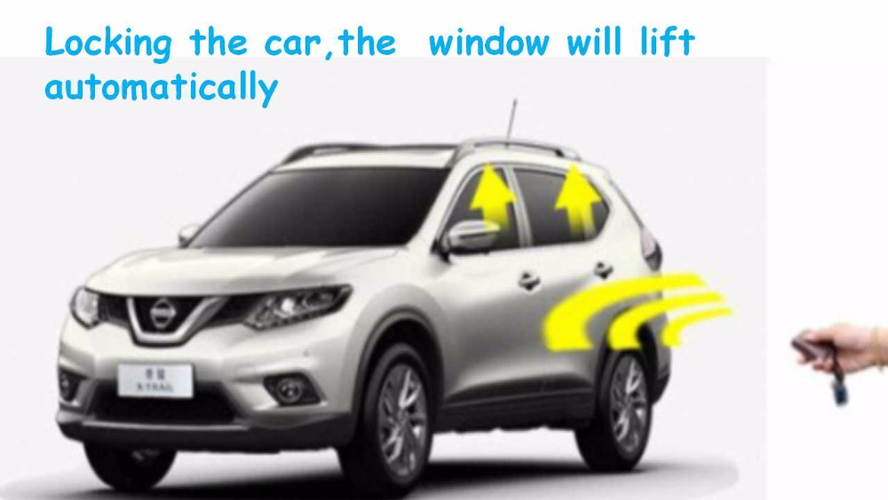 WINSGO Auto Car Power Window Roll Up Closer & Fold the Rearview Mirror Automatically Lift For Subaru XV 2018 + Free Shipping