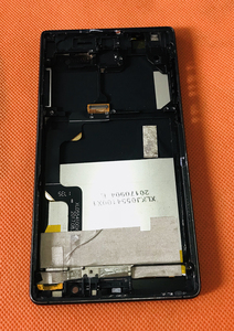 Image 2 - Б/у Оригинальный ЖК дисплей + дигитайзер сенсорный экран + рамка для UMIDIGI Crystal MTK6737T четырехъядерный 5,5 дюйма FHD Бесплатная доставка