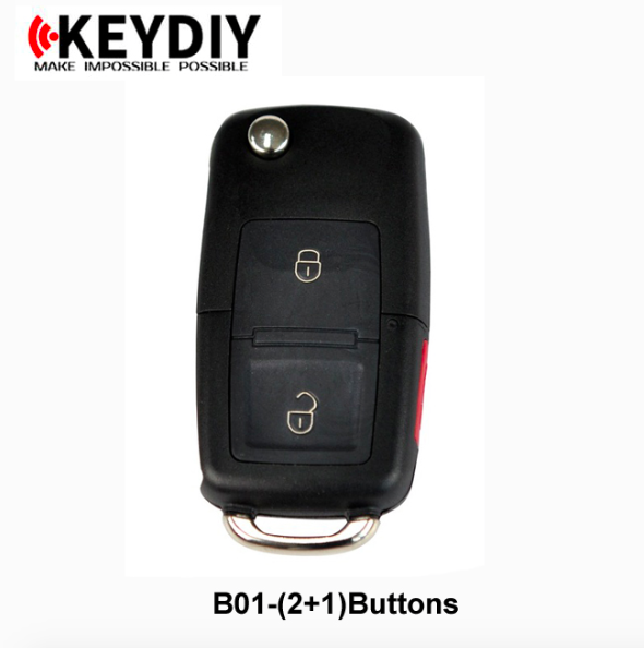 VW styleB01 2+1 buttons KD900/KD200 KD remote key high quality KEY DIY universal car keyVW styleB01 2+1 buttons KD900/KD200 KD remote key high quality KEY DIY universal car key