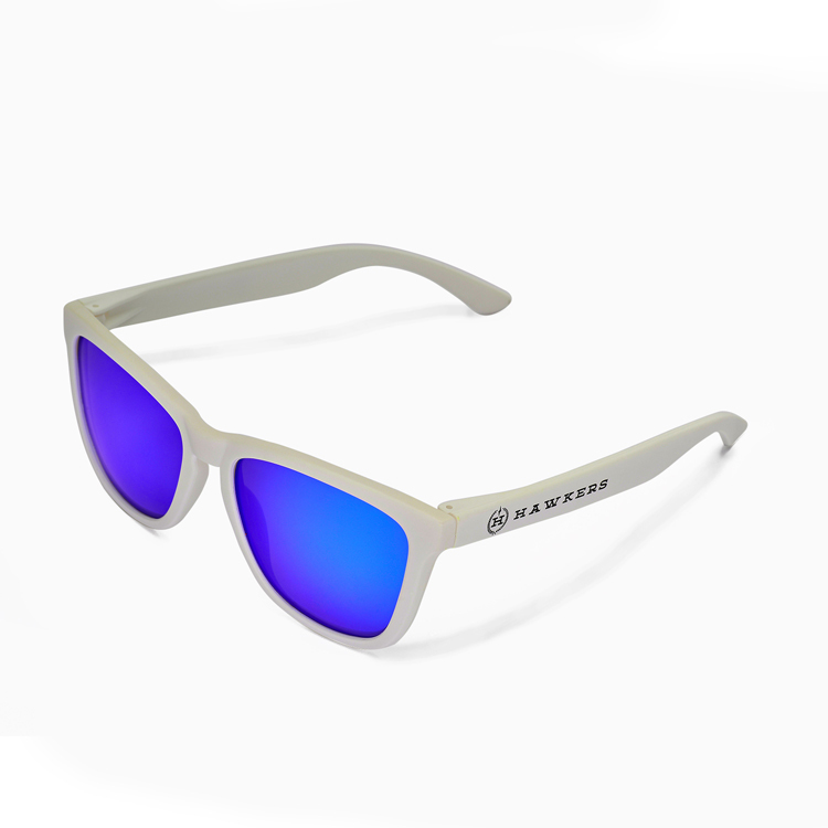 87ce85cf688 2015 brand new Hawkers polarized sunglasses white frame blue lens Men s and women s  sports sunglasses lens polycarbonate-in Sunglasses from Apparel ...