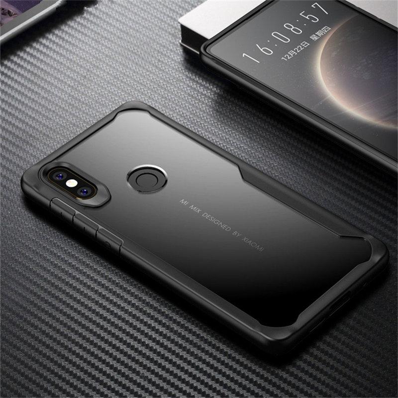 Case For Xiaomi Redmi 5A 8A 7 Note 7 6 8 Pro Lite S2 Clear Shockproof Soft TPU Case For Xiaomi Mi 5X 6X A1 A2 Armor Cover Fundas