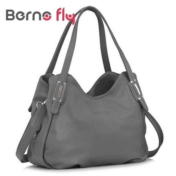 2018 Fashion Women Hobos bag Embossed Genuine Leather Women handBags Famous Brand Solid zipper bag Ladies