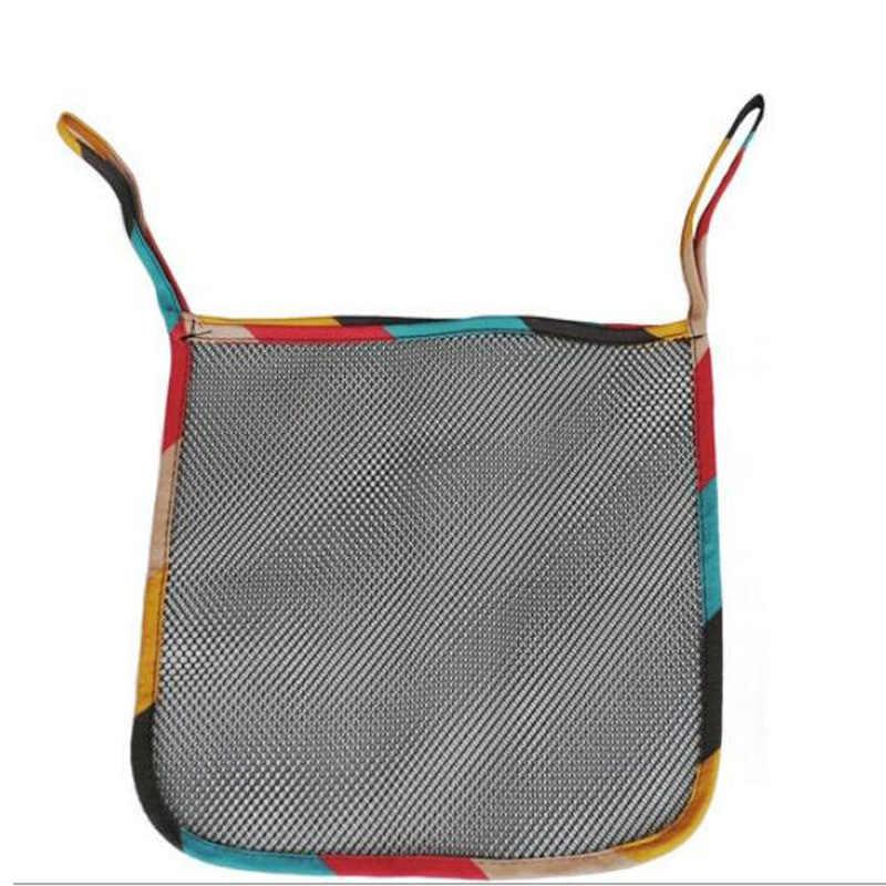 อุปกรณ์เสริมรถเข็นเด็กแบกกระเป๋าเด็กรถเข็นเด็กถุงตาข่ายAถุงตาข่ายสำหรับร่มรถเข็นเด็กรถ