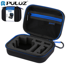 цена PULUZ Waterproof Carrying and Travel Case for GoPro NEW HERO Sport Cameras Accessories Small Size 16cm x 12cm x 7cm Black онлайн в 2017 году