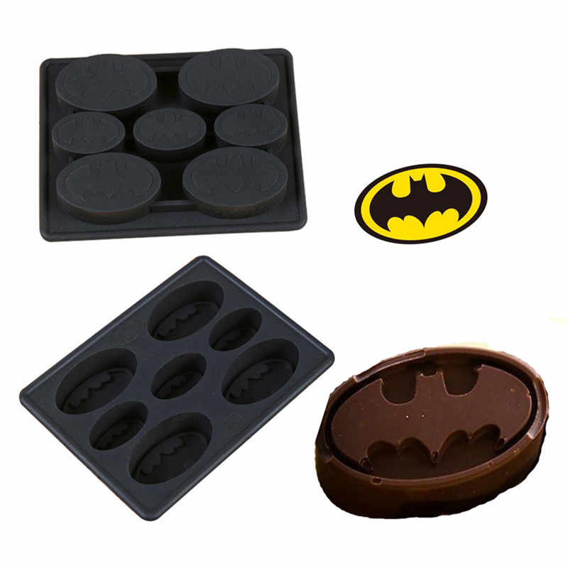 Funny star wars batman silicone mould ice tray ijsbakje chocolade candy jello puddingvorm diy bakvorm gereedschap