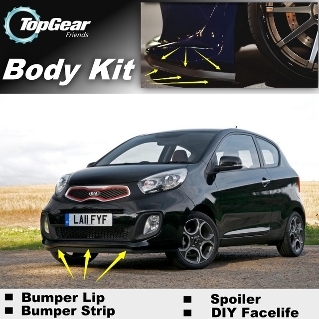 Bumper Lip Deflector Lips For Kia Eurostar Picanto Morning