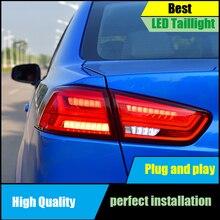 цена на For Mitsubishi Lancer 2009-2017 Dynamic Turn Signal Tail Light Assembly LED Taillight Rear Lamp Driving+Brake+Park+Reversing+