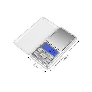 Mini Digital Skala 100/200/300/500G 0.01/0.1G 2