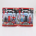 3pcs/set Miraculous Ladybug Comic Ladybug Girl Dolls Action Figure Toys Cute Vinyl Anime cat Toys for Children Christmas Gifts