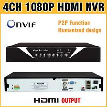 High Quality 1080P HDMI Output NVR 4CH 8CH 16CH H.264 ONVIF CCTV NVR 4 Channel Recorder 8 /16 Channel for NVR IP Camera NVR Kit