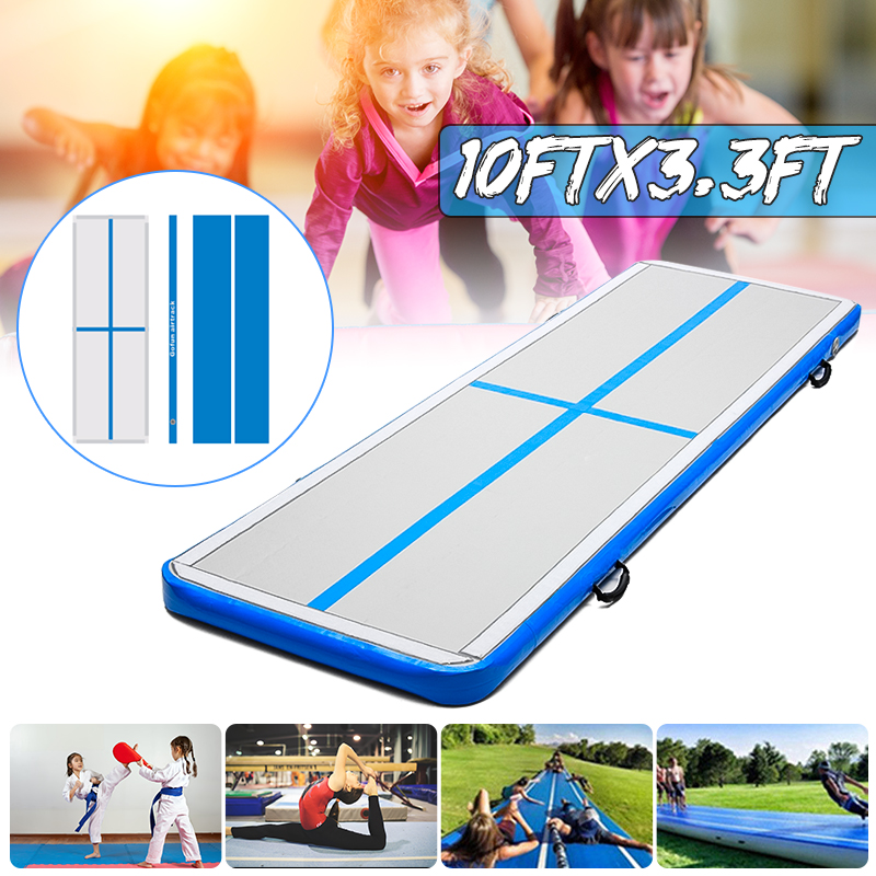 AirTrack 100x300x10cm Inflatable Cheap Gymnastics Mattress Gym Tumble Air track Floor Tumbling Air Track For Sale
