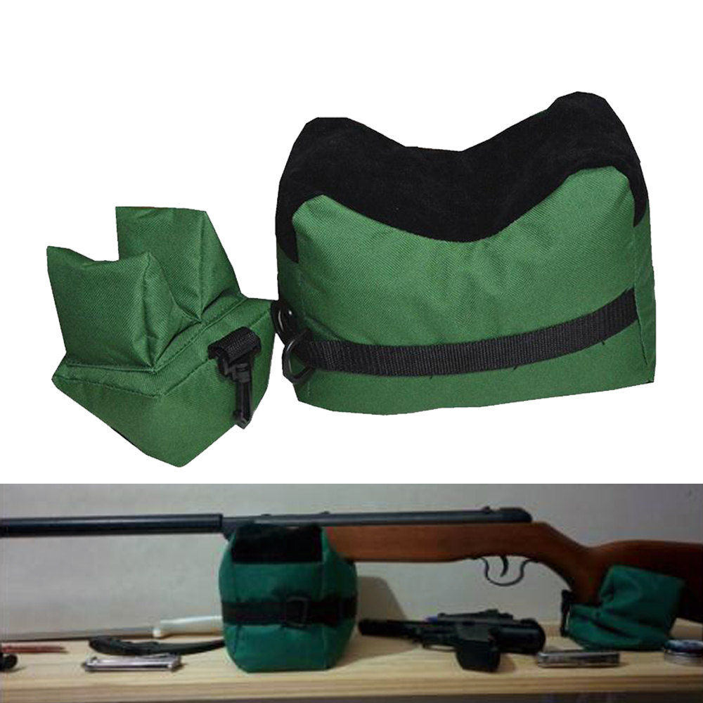 Tactical Airsoft Front and Rear Support Bag Hunting Rifle Sandbag Rest Rifle Gun Rest Sniper Army Target Stand Shooting Bag